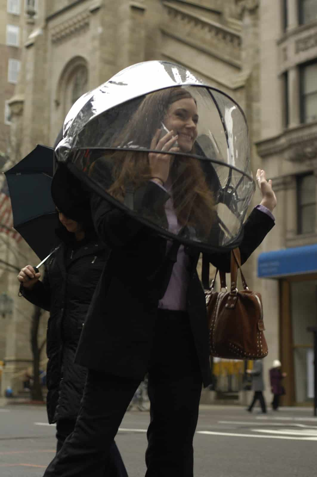 Nubrella Hands Free Umbrella Cool Gift Ideas
