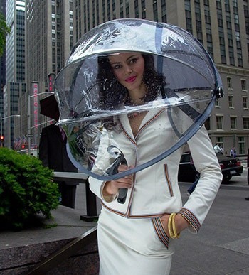 Nubrella Hands Free Umbrella Cool Stuff to Buy