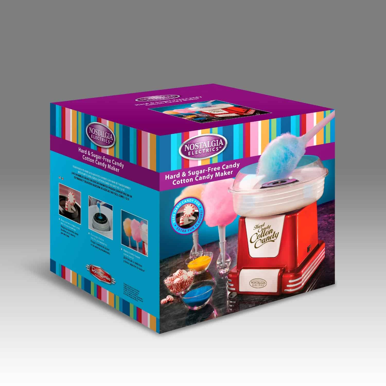 Retro Cotton Candy Maker  Box