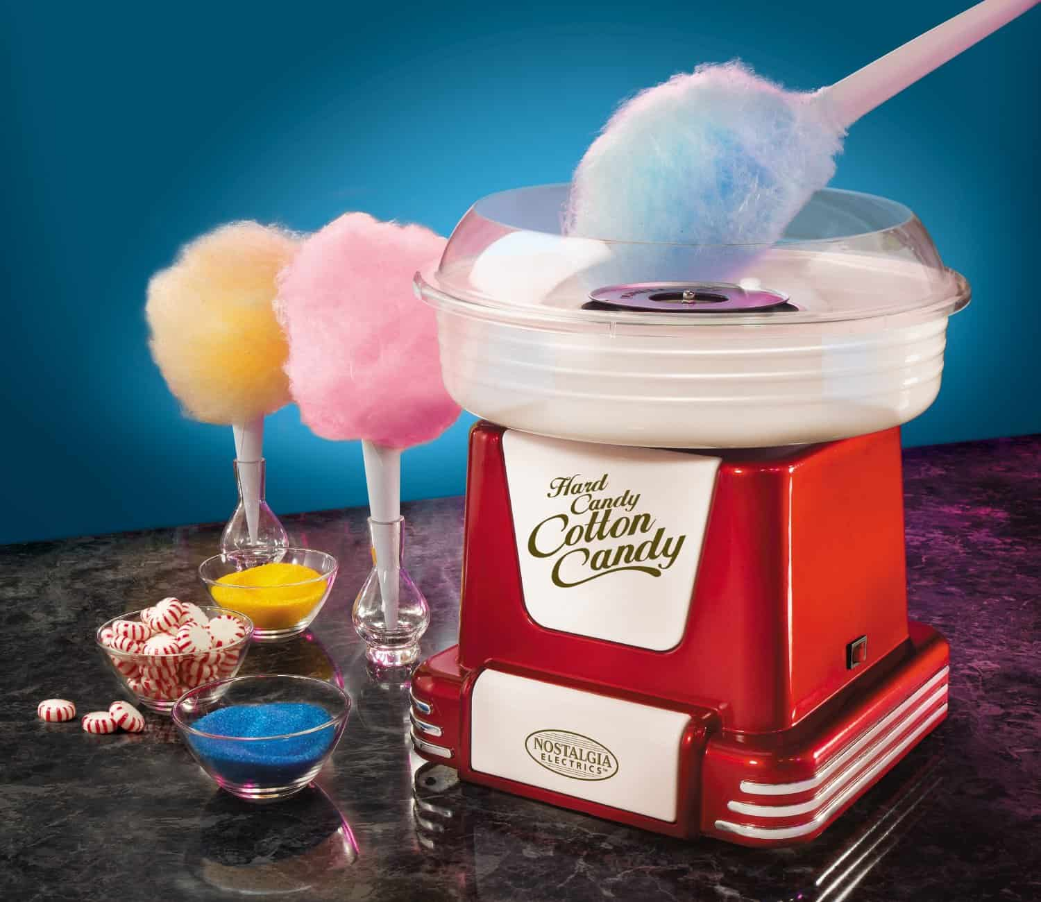 Turn your favorite hard candy to your favorite cotton candy!