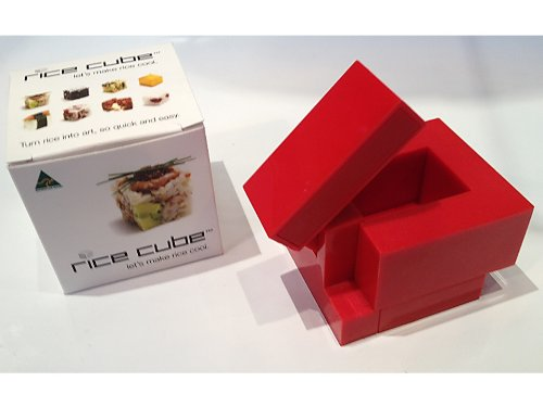 Rice Cube Box Novelty Item