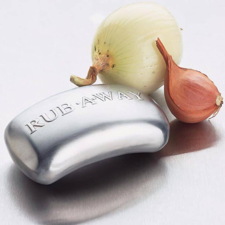 Rub A Way Odor Absorber Stainless Steel Soap Bar Chef Must Have