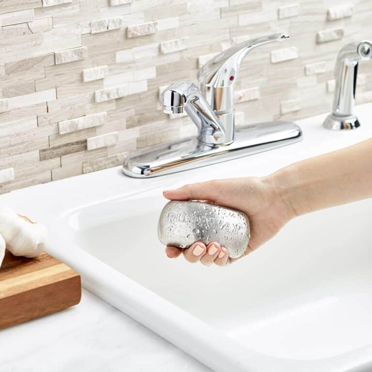 Rub A Way Odor Absorber Stainless Steel Soap Bar Smell Remover