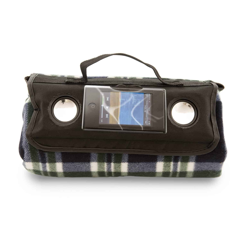 Speaker Picnic Blanket Iphone