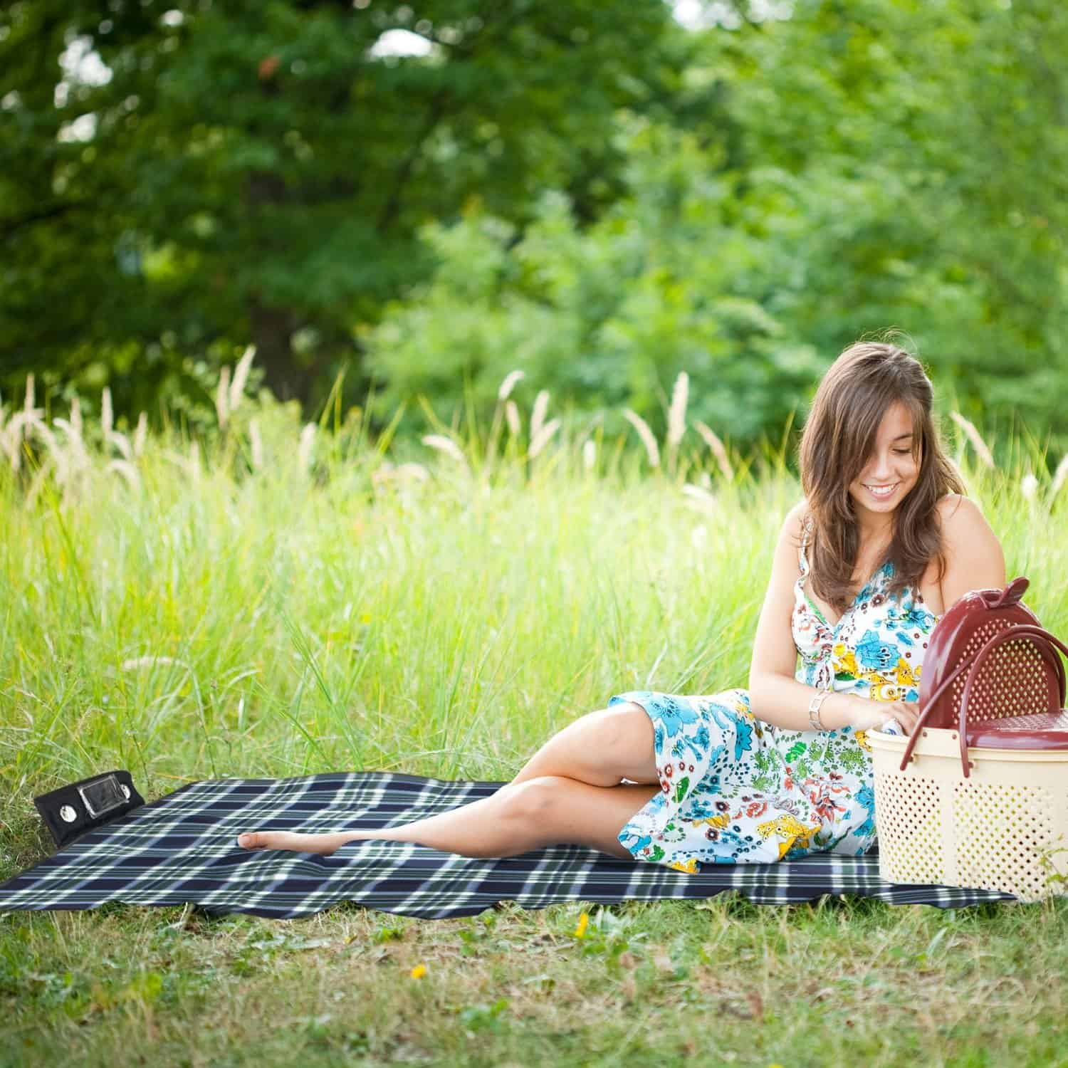 Speaker and picnic blanket in one!