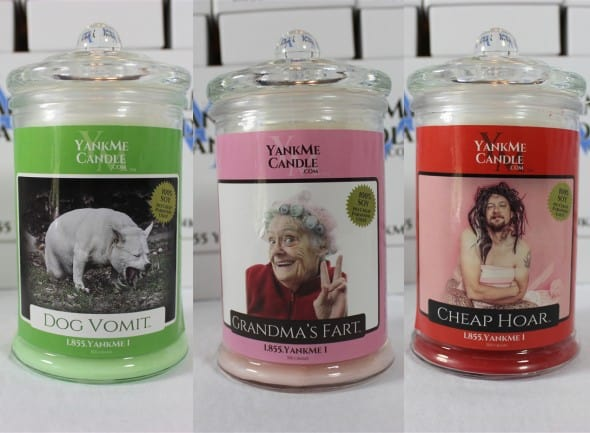 Stinky Candle Dog Vomit Grandmas Fart Cheap Hoar Cool Gift Ideas
