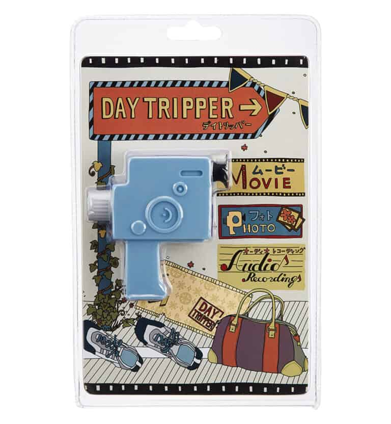 Swimming Fly Day Tripper 8mm Camera Blue Blister Pack