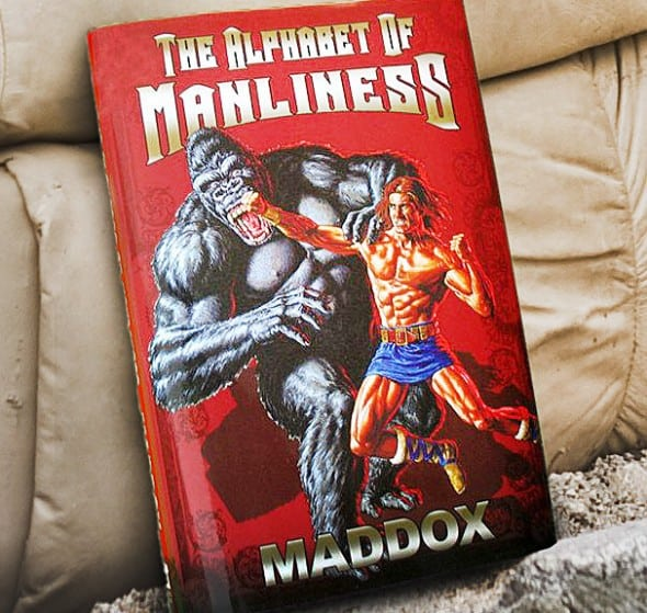 The-Alphabet-of-Manliness-Front-Funny-Book Buy Cool Gift for Boyfriend