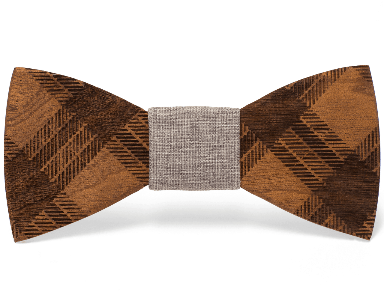 Two Guys Bow Tie Co Mens Wooden Bow Tie Phloyd Cool Men Fashion