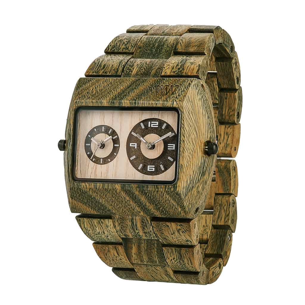 WeWOOD Jupiter Watch Mens Accessory Green