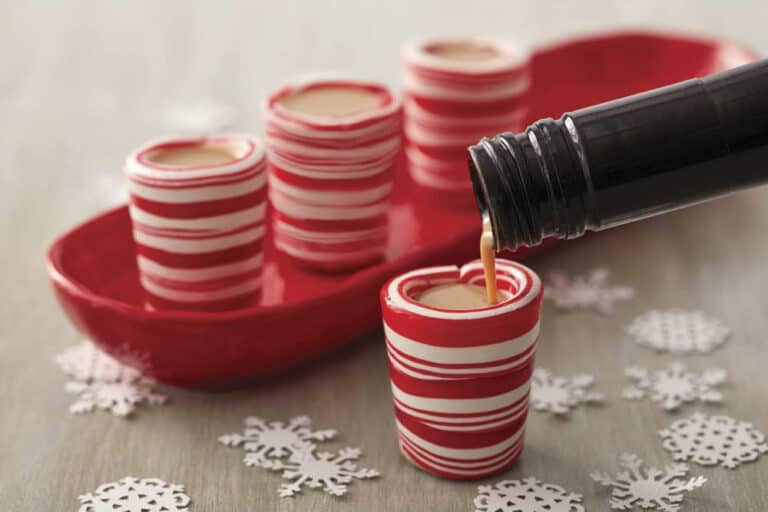 Wilton Peppermint Candy Shot Glasses Edible Cups