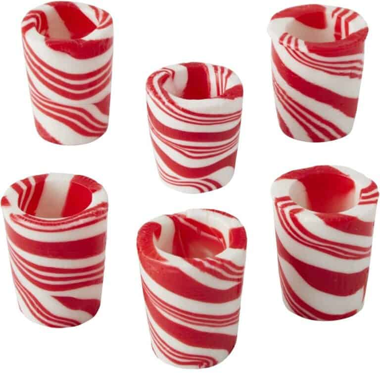 Wilton Peppermint Candy Shot Glasses Gimmick Gift