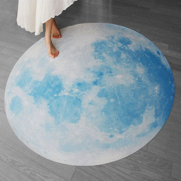 i3Lab-Blue-Moon-Waltz-Glow-in-the-Dark-Rug-Romantic-Mat