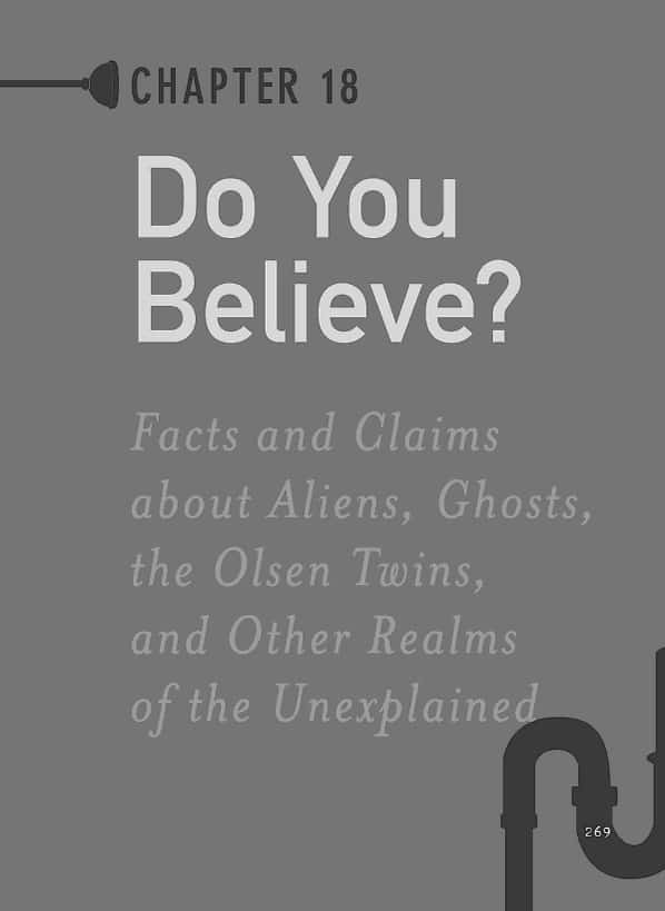 1001 Facts that Will Scare the Shit Out of You The Ultimate Bathroom Reader Do You Believe in Aliens and Ghosts