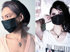 Protect yourself from airborne germs with cool black ninja masks!