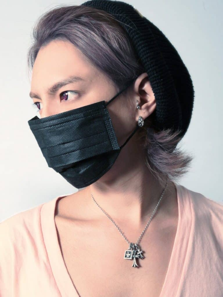 BM Black Surgical Face Mask Set Cool Bamboo Charcoal Mask