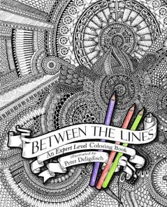 Get yourself an expert level coloring book and show off your mad skills!