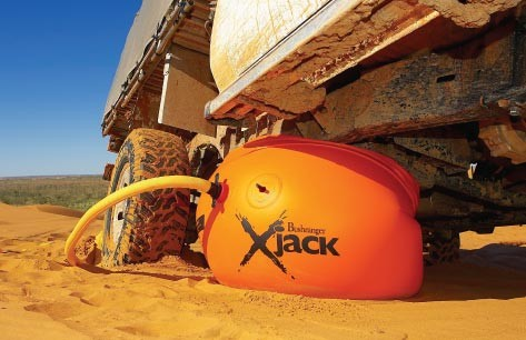 Bushranger X-Jack Arb Recovery Gear Orange Inflatable Jack Sand Dunes Lift Car