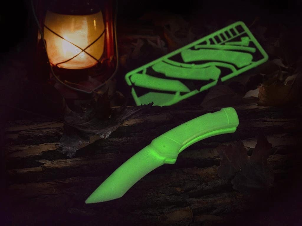 DIY Trigger Knife Kit Glow in the Dark Educational Toy