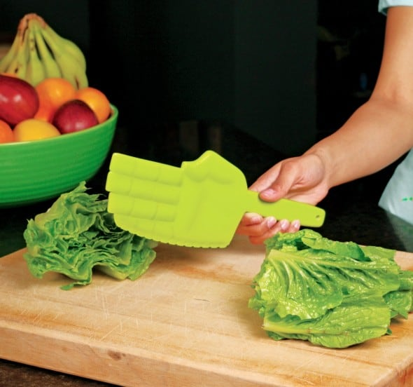 Gama-Go Karate Lettuce Chopper Fancy Kitchen Utensil