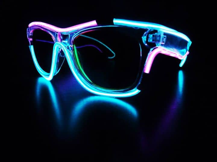 Glow in the Dark Sunglasses Cool Novelty Item