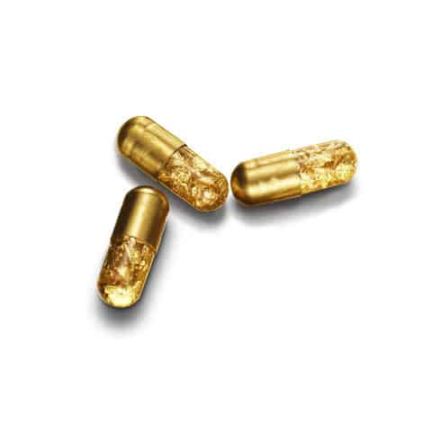 Gold Pills Shiny Capsules Cool Stuff to Buy