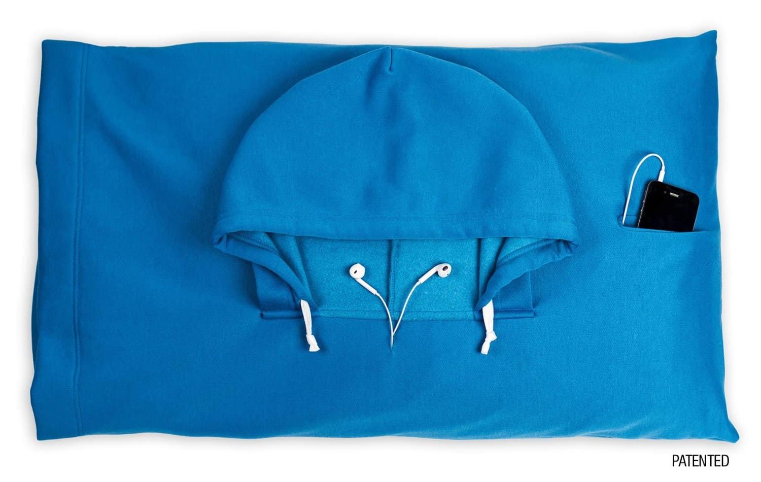 Hoodie Pillow Smurf Blue Iphone