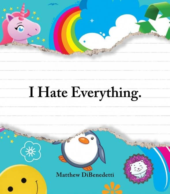 I Hate Everything Book Funny Coffee Table Book Rainbow Uniorcorn