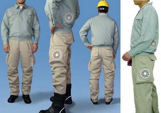 Kuchofuku Air-Conditioned Cooling Pants Weird Invention