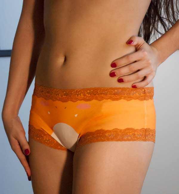 Pokepanties Boyshorts Charmander Cute Underwear