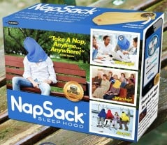 Take a nap anytime… Anywhere!