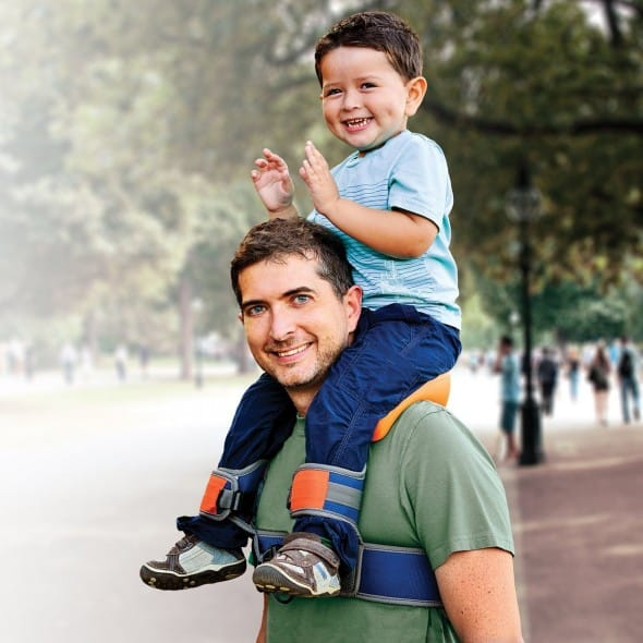 SaddleBaby Shoulder Carrier Vacation Must Accessories