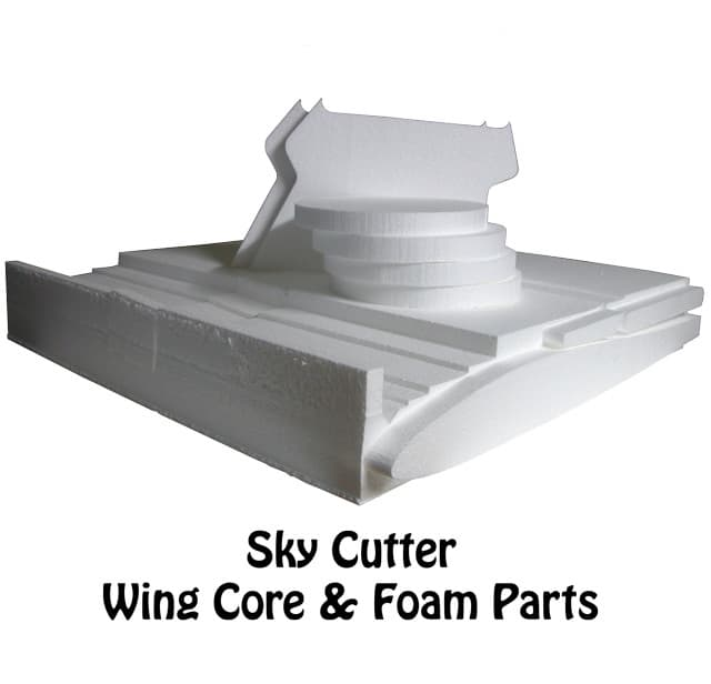 Sky Cutter The Flying Green Lawn Mower Foam Parts