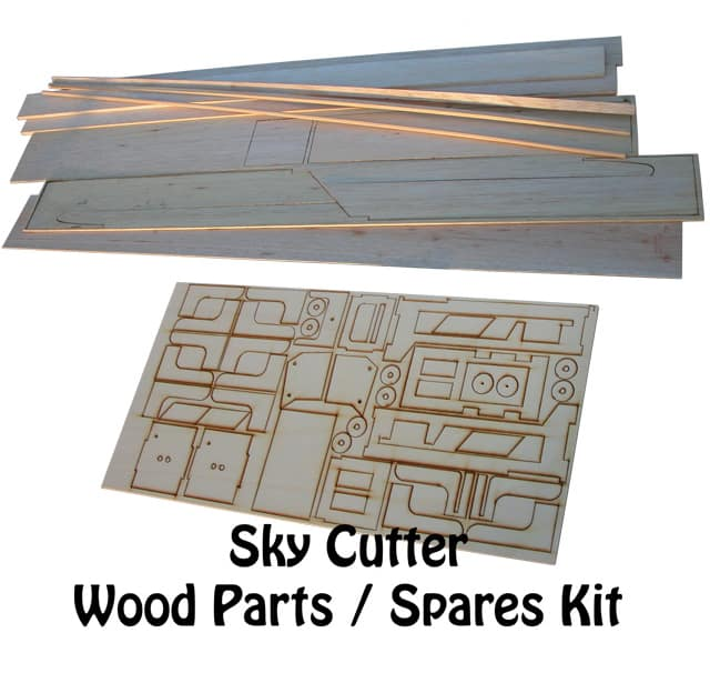 Sky Cutter The Flying Green Lawn Mower Wood Parts