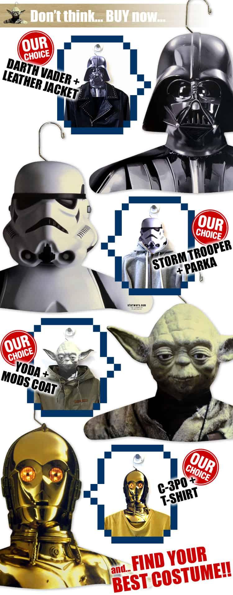 Star Wars Clothes Hangers Gag Gift Stocking Stuffer