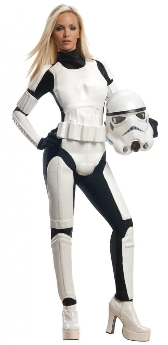 Star Wars Female Stormtrooper Costume Sexy American Cosplay Halloween