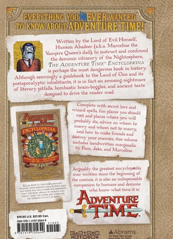 The Adventure Time Encyclopaedia (Encyclopedia) Funny Cartoon Book