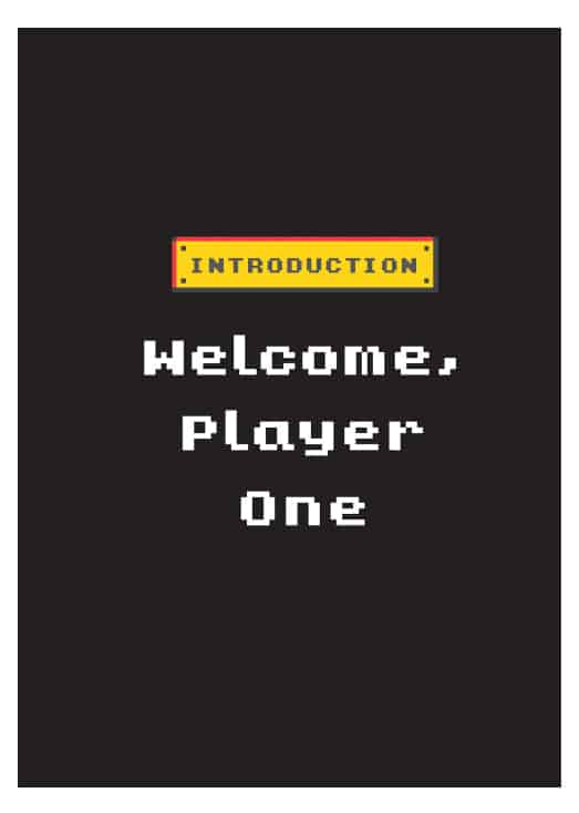 The Geeks Guide to Dating Welcome Player One Introduction Page