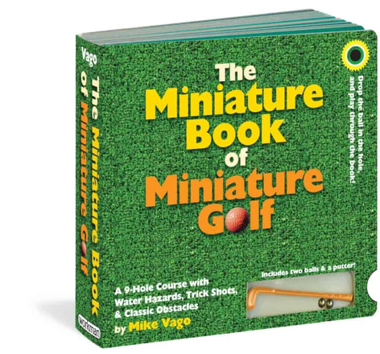 The Miniature Book of Miniature Golf By Mike Vago