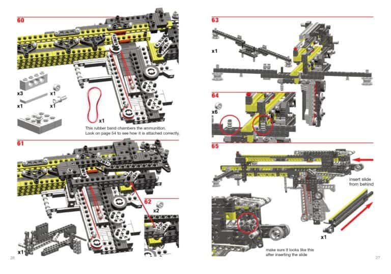Weapons for Lego Lovers Guide Sample Page