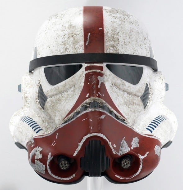 eFX Star Wars the Force Unleashed Incinerator Stormtrooper Helmet Cool Cosplay Kit