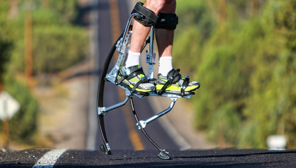 Air Trekker Jumping Stilts Cool Stuff to Buy Summer Outdoor Activity Interesting Product