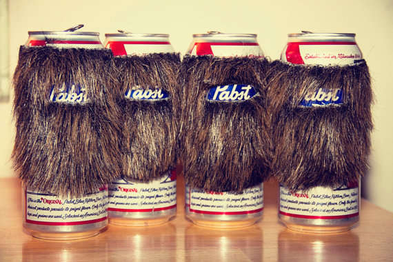Beard Beer Can Koozie Unqiue and Simple Product Idea
