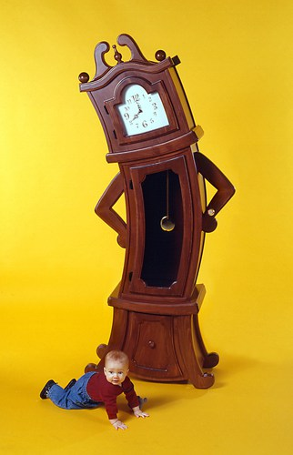 Beauty and the Beast Inspired Furniture Grand Father Clock Sullivan Disney