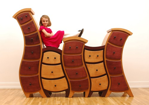 Beauty and the Beast Inspired Furniture Wave Drawer Sobey