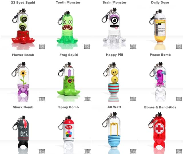 CAPSLs Collectible Designer Capsule Toys Poster Variety List Novelty Item