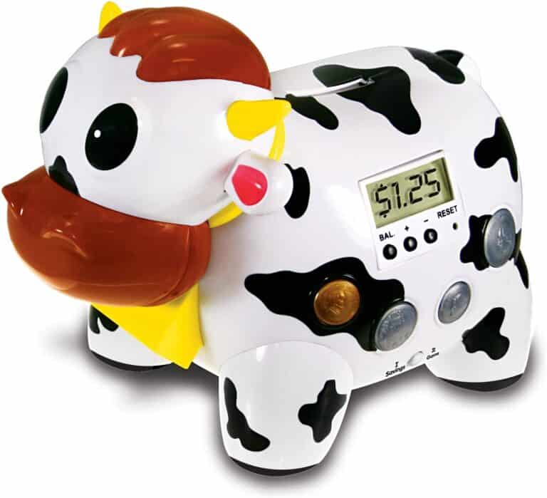 Cash Cow Electronic Talking Bank and Game Cute and Adorable Novelty Item