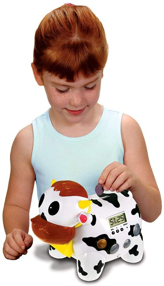 Cash Cow Electronic Talking Bank and Game Fun Gift for Kids