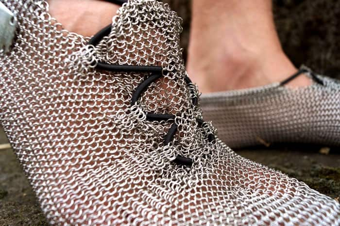 Chainmail Barefoot Shoes Pronativ Comfortable Outdoor Footware Interesting Product
