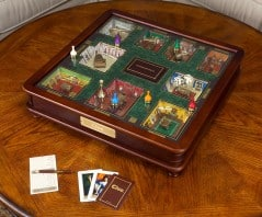 Play the luxurious edition of Clue fit for a king.
